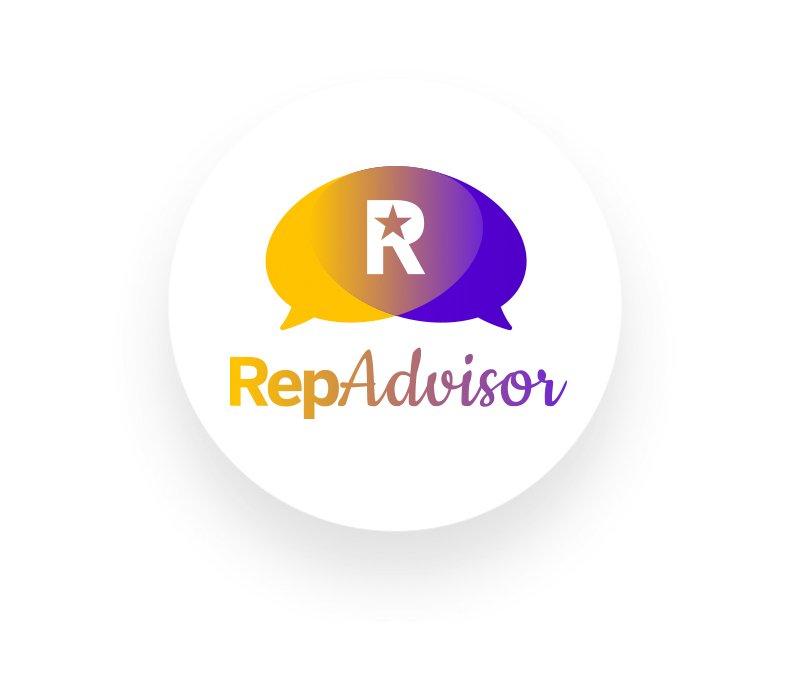 Logo RepAdvisor app - RepUP - reputazione - ristoranti